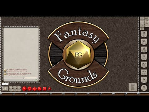 Fantasy Grounds Testing Connections and Game Setup
