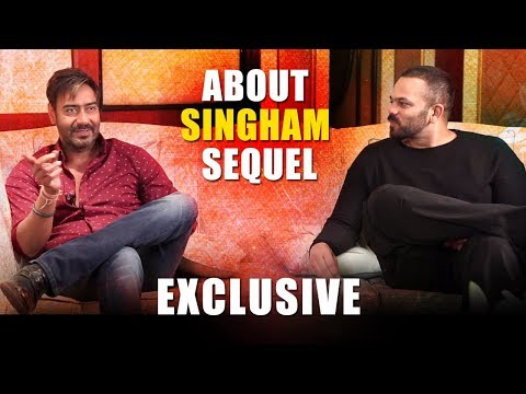 Ajay Devgn & Rohit Shetty Reveal EXCLUSIVE Information About Singham SEQUEL thumbnail