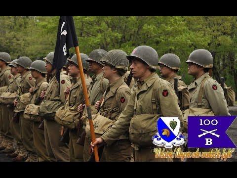 Reenactment 100th Battalion