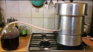 Как приготовить сироп из черноплодной рябины в соковарке. Эпизод №7.