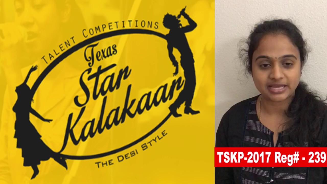 Reg# TSK2017P239 - Texas Star Kalakaar 2017