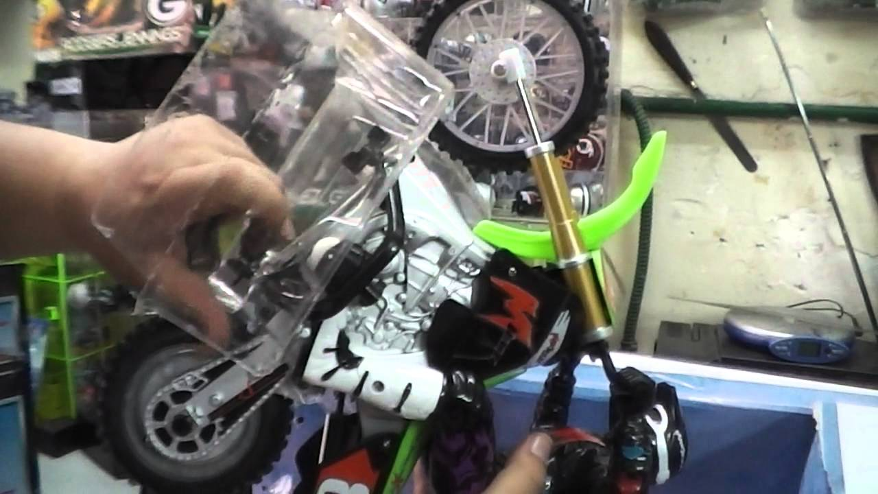 Unboxing My Psycho Cycle Dirt Bike Max Tech Motorcycle Stunt Rc