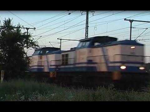 Hoher Güterzug-verkehr am 06.06.2016 Braunschweig-Hannover (3/6)