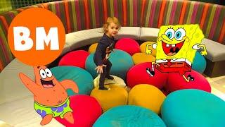 ВМ: Открываем  Бургер Кинг детский набор Губка Боб