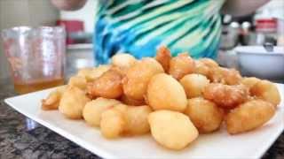 Yiayia's Loukoumathes - Yummy Greek Honey Puffs!