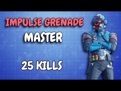 This is how you use Impulse Grenades!   25 KILLS