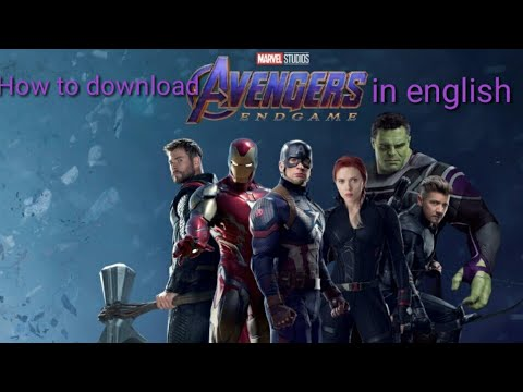 Download How to download avengers endgame in english