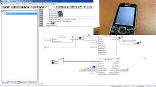 Программирование ОВЕН ПЛК110. Часть 13. Подключение к модему ПМ01