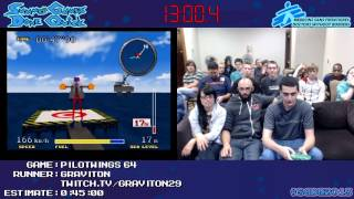 Pilotwings 64 :: SPEED RUN in 0:33:31 by Graviton #SGDQ 2013