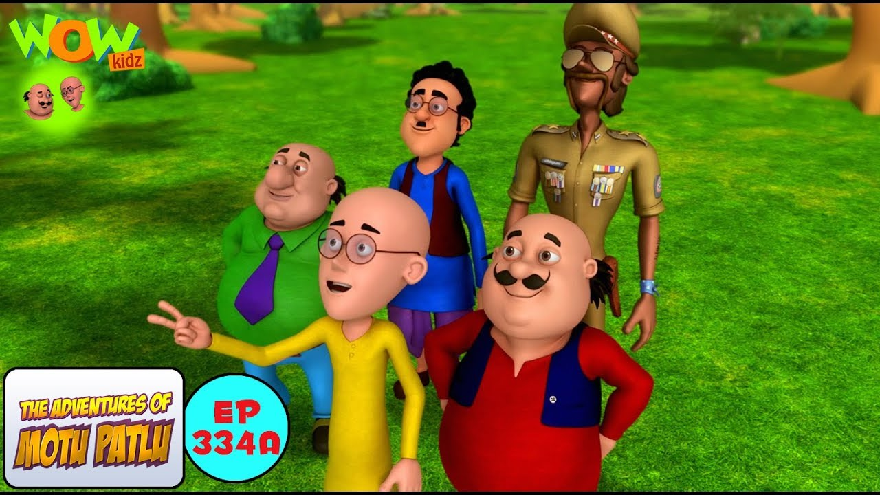Dr Jhatka Ka Umbrella Motu Patlu In Hindi 3d Animation Cartoon