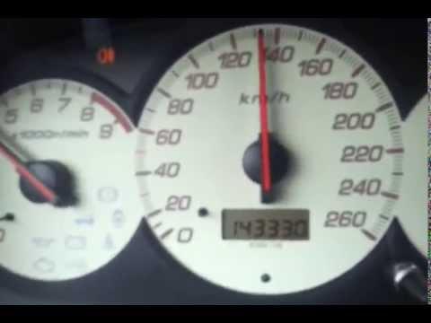 Honda Civic Type-R 200HP Acceleration 0-180 km/h