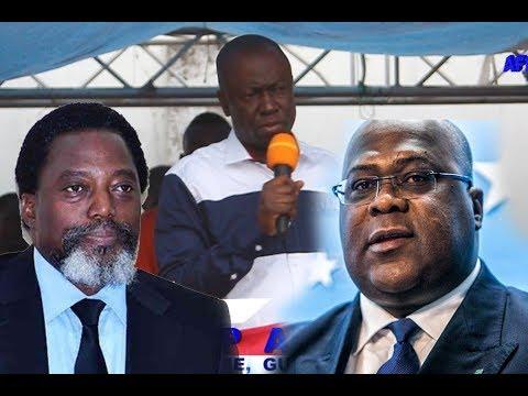 URGENT!!! AUGUSTIN KABUYA DEVOILE AU GRAND JOUR L'ACCORD FCC/CACH. PLUS QUESTION DE CACHER
