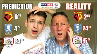 REACTING TO OUR CHAMPIONSHIP PREDICTIONS *GONE WRONG*