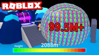 MAX HEIGHT ON BUBBLE GUM SIMULATOR IN ROBLOX