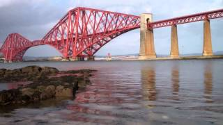 March Forth Railway Bridge Firth Of Forth Scotland