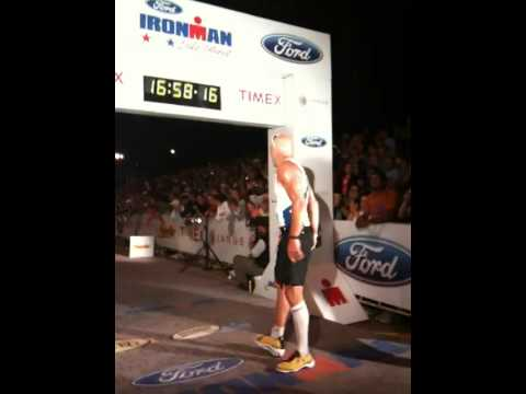 Matt Long's Lake Placid Ironman 2009 Finish!