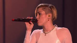 Miley Cyrus - Wrecking Ball (Live from EMA's 2013)