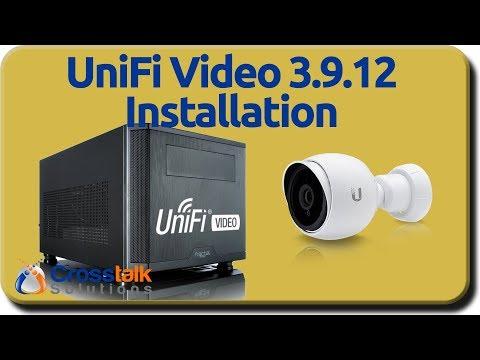 UniFi Video 3 9 12 Installation - YouTube