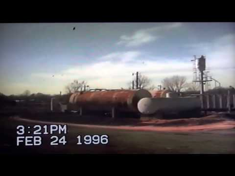 Vintage Railroad Video - Amtrak Crescent - Picayune, MS to Meridian, MS February 24, 1996