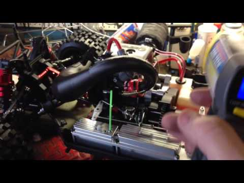 Part2, Of How I Break In 5Th Scale GAS RC Motors. Getting it to come to life