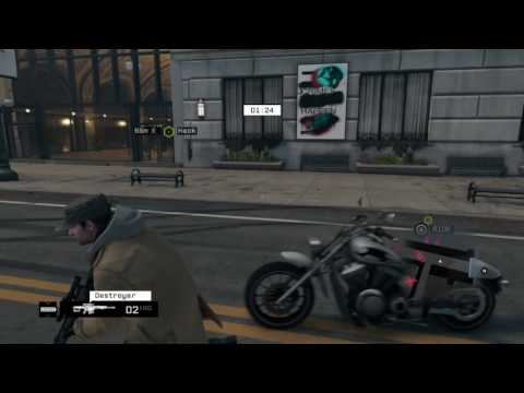Hacking Car680210 Round 2 (Watch Dogs)