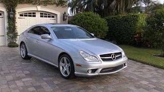2011 Mercedes Benz CLS550 AMG Sport Review and Test Drive by Bill - Auto Europa Naples