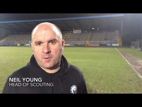 20/02/2018 Neil Young after the Hartlepool match