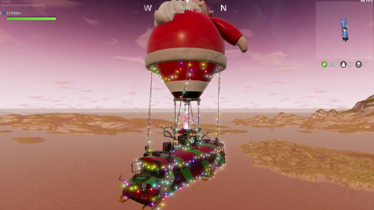 Image result for fortnite christmas battle bus