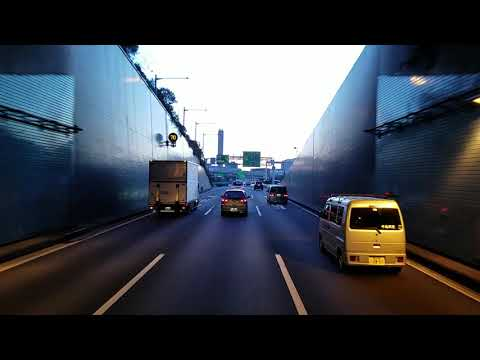 Passando por Tokyo Yamate tunel Ep 25/17