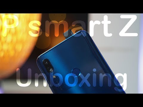 Huawei P Smart Z Unboxing And First Impressions With POP UP CAMERA