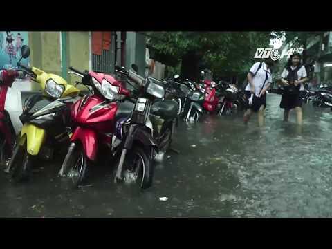 (VTC14)_TP HCM: Mưa lớn ngập cục bộ ở nhiều quận