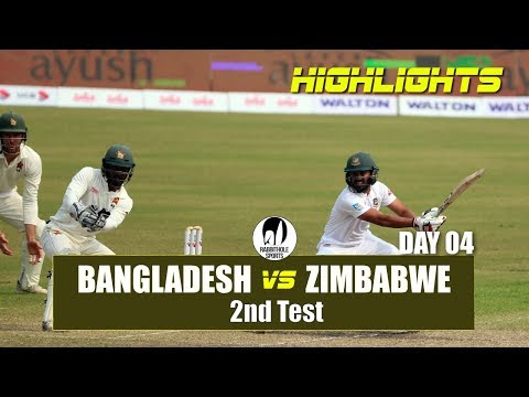 Bangladesh vs Zimbabwe Highlights || 2nd Test || Day 4 || Zimbabwe tour of Bangladesh 2018