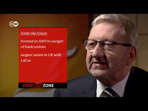 Len McCluskey on Conflict Zone | DW English