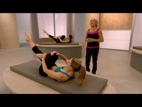 Mari Winsor  Flat Abs Pilates  Пилатес для живота и спины