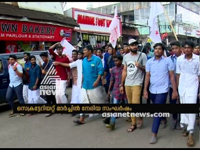 SFI-SDPI conflict in march on Abhimanyu's murder