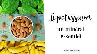 Le POTASSIUM, un minéral essentiel