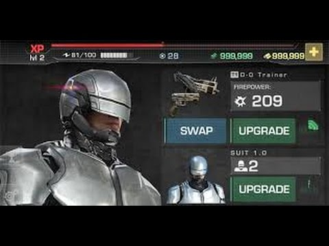 Robocop - Money Cheat On Android - Robocop Cheat Android v 3.0.2