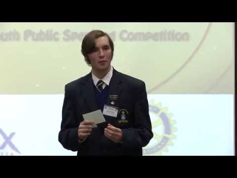 WYNSPEAK 2014 Austin Deppeler runner-up senior competition