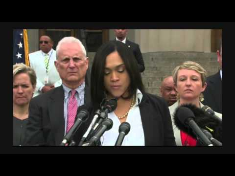 State Attorney Marilyn J. Mosby, Press Conference 5/1/15