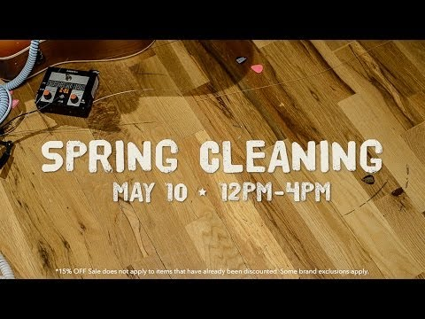 Spring Cleaning Sales Event May 10th