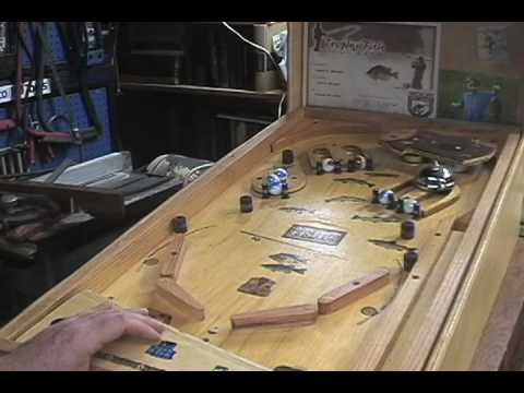 Homemade Tabletop Pinball Youtube