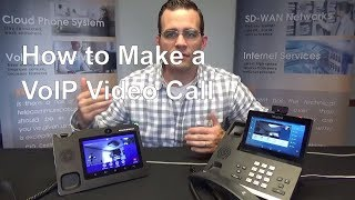 VoIP video call: Yealink T58V to Grandstream GXV3370