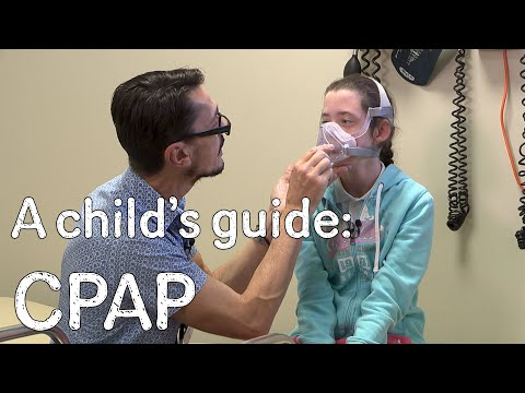 A child's guide to hospital - CPAP