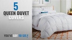 Top 10 Queen Duvet Covers [2018]: LINENSPA All-Season White Down Alternative Quilted Comforter -