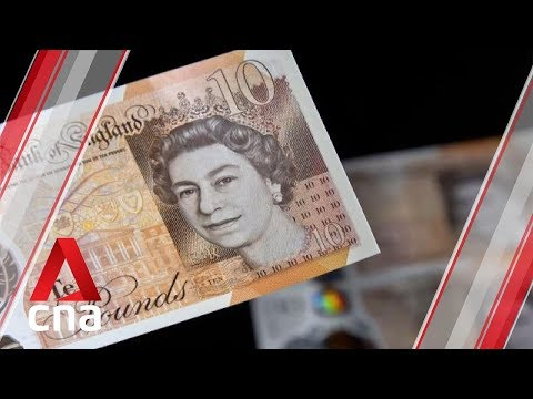 British pound steadies after four days of steep losses