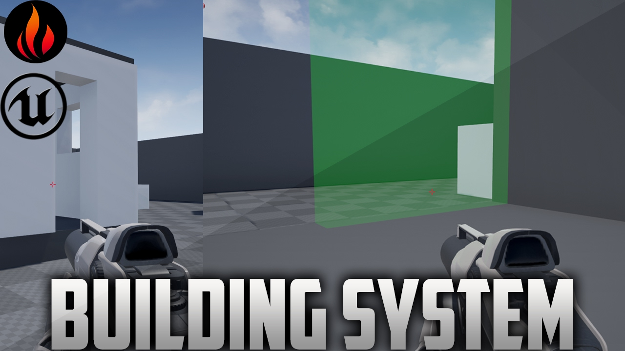 Unreal Engine 4 - Building System Walkthrough