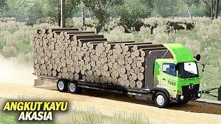 Ttuk Hino New Gen Angkut Akasia - Euro Truck Simulator 2