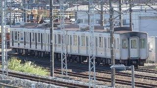 【東京メトロ03系 トップナンバー 03-101F 先頭車3両陸送済か。】台風19号通過後の渡良瀬川の様子も撮影。