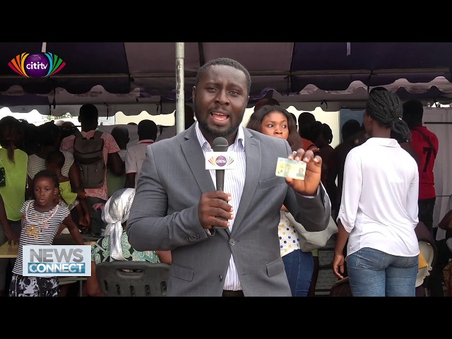 How did the Ghana Card registration fare in Adenta?