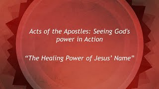 21 June: The Healing Power of Jesus (Seeing God's Power in Action Series)